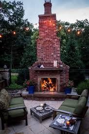 Outdoor Fireplaces St Louis Poynter Landscape