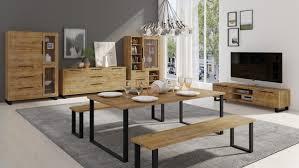 lowboard 180cm wotan eiche tv board wohnzimmer modern