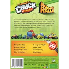 The Adventures Of Chuck And Friends - Monster Rally | DVD | BIG W Tonka Chuck Friends Car Lot Sheriff Maisto Dump Truck Windup Coloring Best 28 Collection Of The Sterling Dump Truck Wilson Flickr Hasbro Tonka Chuck Talking Animated Rolling Pages And Rumblin 50 Similar Items Playskool Rc Spnin Vehicle Amazoncom Race Along Toys Games Sword Dhs Diecast Blog Interesting Grossery Gang Muck Garbage Amazoncouk Ride On