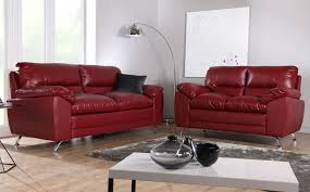 Red Leather Couch Living Room Ideas by Lovable Red Leather Sofas Sleek Red Leather Sofa Delectable Red