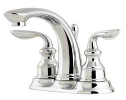 how to center pfister faucets
