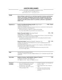 Profile Resume Statement On Example Sample Template Student