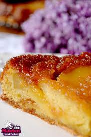 c est maman qui l a fait gâteau tatin aux pommes gâteau blond