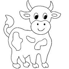 Full Size Of Coloring Pagecow Cartoon Drawing Face Cute Cows Page Large