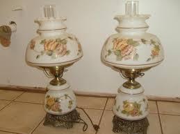 Antique Hurricane Lamp Globes by Quoizel 1973 Set Of Hurricane Lamps 1961 Antique Appraisal