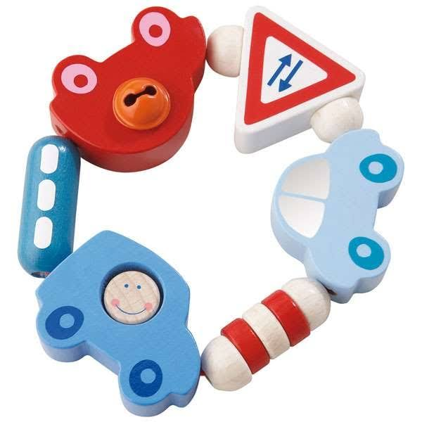 Haba Toot-Toot Rattle Clutching Toy