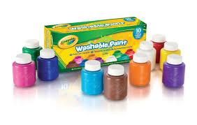 crayola 54 1205 e 000 kit de loisirs créatifs 10 pots de