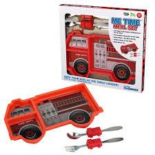 100 Fire Truck Kids Me Time Meal Set Engine Mikki Me