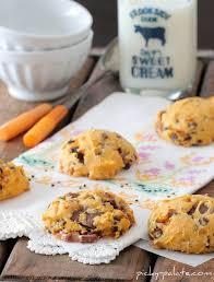 Cake Mix Pumpkin Cookies by Pumpkin Toffee Chip And Rolo Chunk Cookies Picky Palate