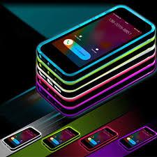 LED Flashing Shockproof Case Multi Color Apple iPhone 6 6S Plus