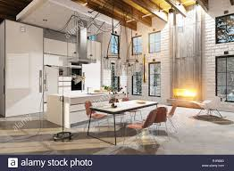 100 Modern Luxury Design Modern Luxury Kitchen Interior 3d Design Concept Rendering