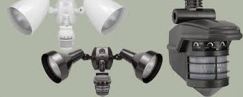 Outdoor Motion Light with Security Camera