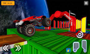 100 Monster Trucks Games Crazy Off Road Stunts Truck For Android APK