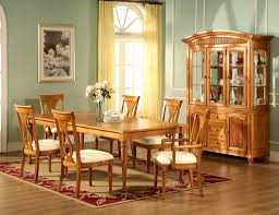 Ebay Uk China Cabinets by Bedroom Agreeable Sharp Chateau Leg Solid Oak Dining Table Home