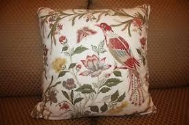 Pottery Barn Large Decorative Pillows by Pottery Barn Bird Pillow Ebay