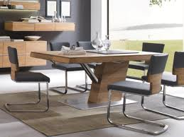 säulentisch ausziehbar 160 200x77x95cm acerro rustikale asteiche massiv casade mobila