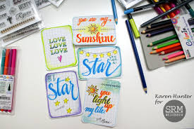 My SRM Faith And Planner Stamps Are Giving Me Great Inspiration For These Notes I Used Several Brush Markers LePlumeII ColorIn Watercolor