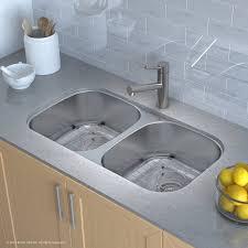 33x22 Undermount Kitchen Sink by Kraus 32