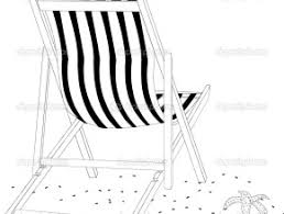 Free Coloring Pages Of Beach Chair