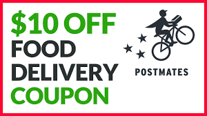 $10 OFF Postmates Food Delivery Using Coupon Code