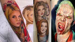 Slayer Tattoos 45 Badass Buffy The Slayer Tattoos Ideas