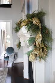 Frontgate Gold Garland For Formal Dining Room Holiday Decor