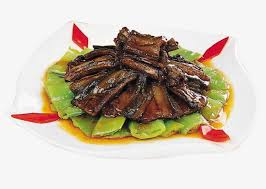 Grind Pepper Fried Eel Slices Product Kind Chinese Food Home Cooking PNG Image