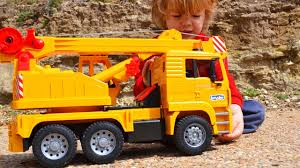 Unboxing A Bruder Crane Construction Truck And Play! L ... Cstruction Trucks Toys For Children Tractor Dump Excavators Truck Videos Rc Trailer Truckmounted Concrete Pump K53h Cifa Spa Garbage L Crane Flatbed Bulldozer Launches Ferry Excavator Working Tunes 1 Full Video 36 Mins Of Truck Videos For Kids Vehicles Equipment The Kids Picture This Little Adorable Road Worker Rides His Tonka Toy Tow And Toddlers 5018 Bulldozers Vs Scrapers