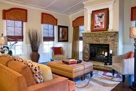 Modern Valances For Living Room by Window Treatments With Drama And Panache Decorating Den Interiors