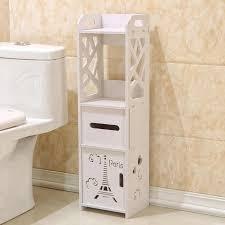 bad schrank boden stehend bad wc möbel schrank weiß holz kunststoff bord schrank regal tissue lagerung rack