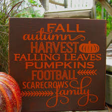 Fall Home DecorFall DecorationsAutumn SignsHarvest Signs