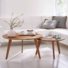wohnzimmer tisch rund baluna
