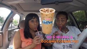 Pumpkin Iced Coffee Dunkin Donuts 2017 by Dunkin U0027 Donuts New S U0027mores U0026 Coconut Cream Pie Iced Coffee On