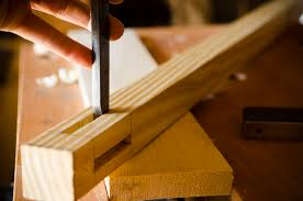 how to build a desk with hand tools part 3 chop leg mortises