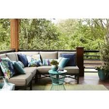 Outdoor Sectional Sofa Canada by Hampton Bay Granbury 6 Piece Metal Outdoor Sectional With Fossil