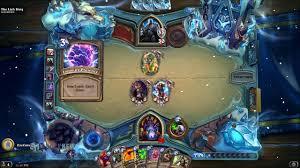 hearthstone knights of the frozen throne gameplay warlock vs