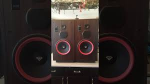 cerwin vega vs 120 vintage floor speakers with fresh foam