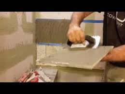 how to tile a bathroom wall step by step two techniques and