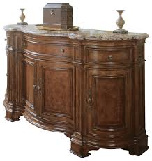 Storage Furniture Buffets Sideboards Villa Cortina Sideboard Credenza W Marble Top