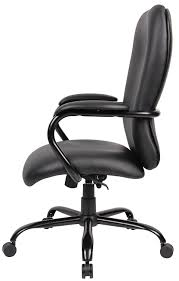 Tall Office Chairs Amazon by Amazon Com Boss Office Products B990 Cp Heavy Duty Caressoftplus