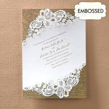 Country Wedding Invites Lace And Burlap Invitations Themed Australia