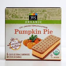 Sam Adams Harvest Pumpkin Ale Carbs by 365 Pumpkin Pie Ice Cream Sandwiches Pumpkin Spice Flavored