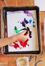 Easy Art Idea Oil Watercolors