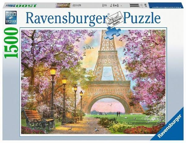 Ravensburger 16000 Paris Romance 1500pc Jigsaw Puzzle