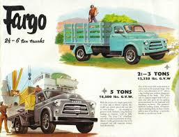100 Fargo Truck Sales 1956 Truck Sales Brochure Page DODGE Mopar FARGO