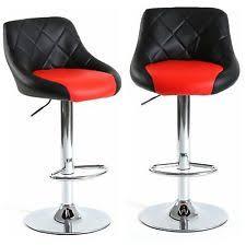 Black Leather Bar Stools by Leather Bar Stools Ebay
