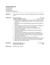 front desk resume resume cv cover leter