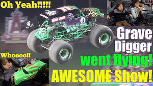 Hulyan And Maya Watching A MONSTER JAM Show LIVE! Awesome Monster ... Monster Truck Show 5 Tips For Attending With Kids Trucks Details And Credits Metacritic Colorado Speedway Rally Jumping June 18 2016 Youtube The 25 Best Truck Videos Ideas On Pinterest Choses School Bus Instigator Jam Sun National Runaway Official Stunt Trailer 2017 Opening Funny Surprise Eggs The Assistant Monster Trucks Trailer 2 German Deutsch Alabama Vs Clemson Trucks Destroy Car Sicom Ars Kids Hot Wheels Big Off Road Shark Wreak Movie