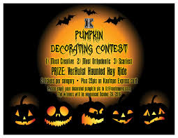 Office Pumpkin Decorating Contest Rules by News And Contests Rochester Ny Kaufman Orthodontics