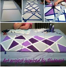 Canvas Tape Art
